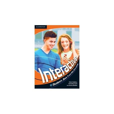 Interactive 3 Student's Book + Web Zone access Cambridge University Press 9780521712194