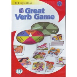 The Great Verb Game - Game Box + CD-ROM