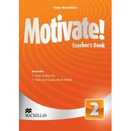 Motivate! 2 Teacher's Book Pack + Multi-ROM
