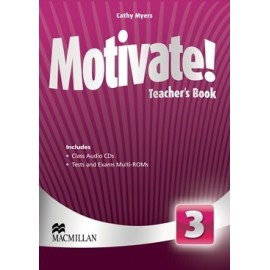 Motivate! 3 Teacher's Book Pack + Multi-ROM