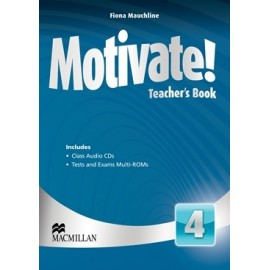 Motivate! 4 Teacher's Book Pack + Multi-ROM
