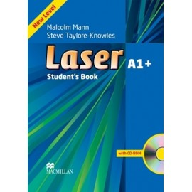 Laser A1+ Third Edition Student's Book + CD-ROM
