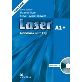 Laser A1+ Third Edition Workbook with Key + CD