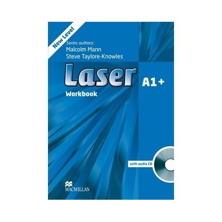 Laser A1+ Third Edition Workbook without Key + CD Macmillan 9780230424623