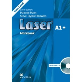 Laser A1+ Third Edition Workbook without Key + CD