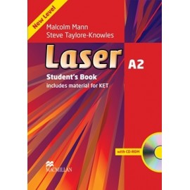 Laser A2 Third Edition Student's Book + CD-ROM + eBook