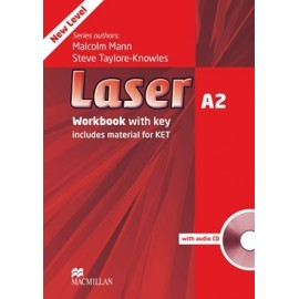 Laser A2 Third Edition Workbook with Key + CD