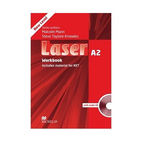 Laser A2 Third Edition Workbook without Key + CD Macmillan 9780230424753