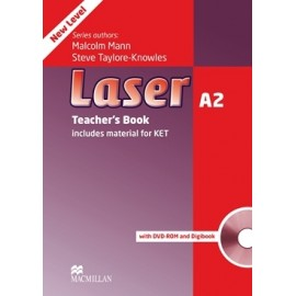 Laser A2 Third Edition Teacher's Book + Digibook + DVD-ROM