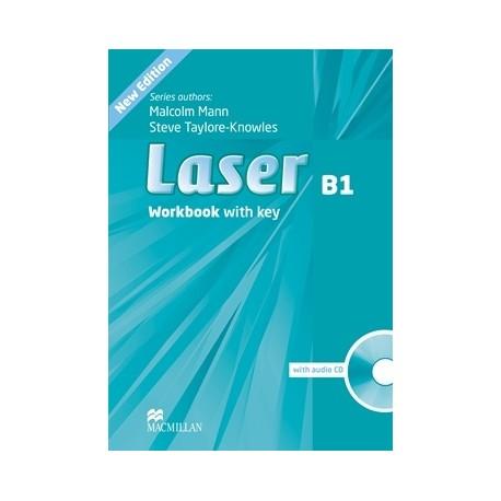 Laser B1 Third Edition Workbook with Key + CD Macmillan 9780230433533