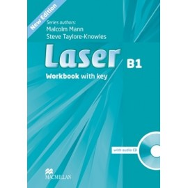 Laser B1 Third Edition Workbook with Key + CD