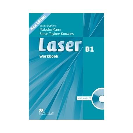 Laser B1 Third Edition Workbook without Key + CD Macmillan 9780230433540