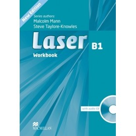 Laser B1 Third Edition Workbook without Key + CD