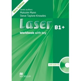 Laser B1+ Third Edition Workbook with Key + CD
