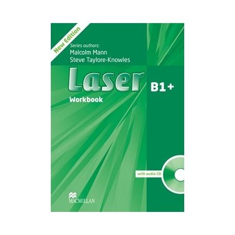 Laser B1+ Third Edition Workbook without Key + CD Macmillan 9780230433694