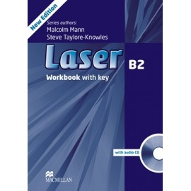 Laser B2 Third Edition Workbook with Key + CD