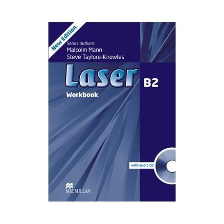 Laser B2 Third Edition Workbook without Key + CD Macmillan 9780230433847