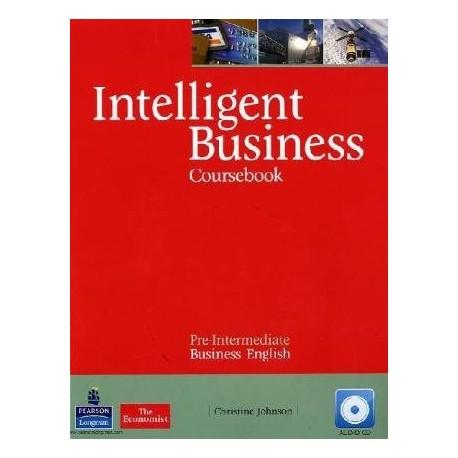 Intelligent Business Pre-Intermediate Coursebook + Audio CD Pearson 9781408256008