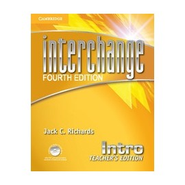 Interchange Fourth Edition Intro Teacher's Edition + Assessment Audio CD/CD-ROM