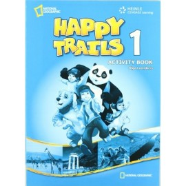 Happy Trails 1 Activity Book + Overprinted Answer Key (Teachers Edition)