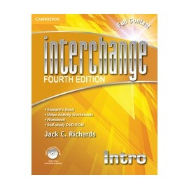 Interchange Fourth Edition Intro Full Contact Pack + Self-study DVD-ROM