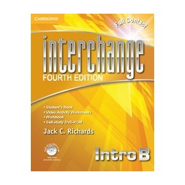 Interchange Fourth Edition Intro Full Contact B Pack +Self-study DVD-ROM