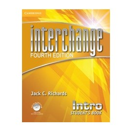 Interchange Fourth Edition Intro Student's Book + Self-study DVD-ROM
