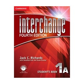 Interchange Fourth Edition 1 Student's Book A + Self-study DVD-ROM