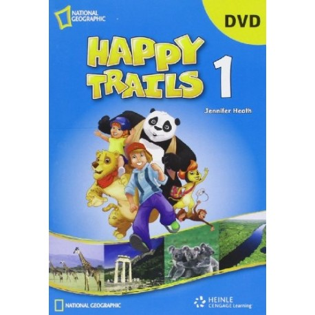 Happy Trails 1 DVD Cengage Learning 9781111062347