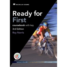 Ready for First Third Edition Student's Book with eBook and Key + Macmillan Practice Online + Audio download