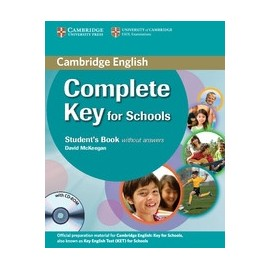 Complete Key for Schools Student's Pack (Student's Book without answers + CD-ROM, Workbook without answers + CD)
