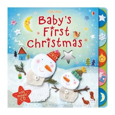 Baby's First Christmas + CD Usborne Publishing 9781409525196