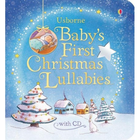 Baby's First Christmas Lullabies + CD Usborne Publishing 9781409538462
