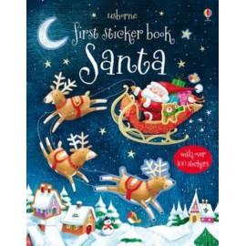 Usborne First Sticker Book: Santa