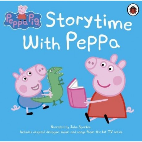 Peppa Pig: Storytime with Peppa CD (Audiobook) Ladybird 9781409314417