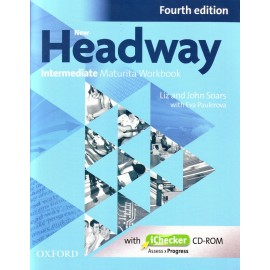New Headway Intermediate Fourth Edition Maturita Workbook without Key + iChecker CD-ROM