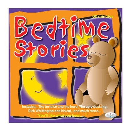 Bedtime Stories CD (Audiobook) CRS Records 9781904903123
