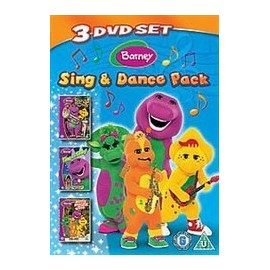 Barney: Sing and Dance Pack 3 DVD Set