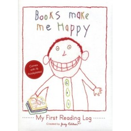 Books Make Me Happy: My First Reading Log (reading journal)