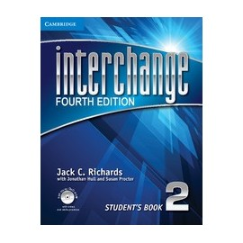 Interchange Fourth Edition 2 Student's Book + Self-study DVD-ROM