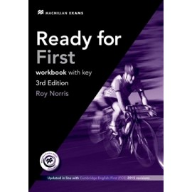 Ready for First Third Edition Workbook with Key + CD