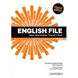English File Third Edition Upper-Intermediate Teacher's Book + CD-ROM
