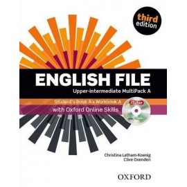 English File Third Edition Upper-Intermediate Multipack A + iTutor DVD-ROM + Online Skills Practice