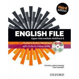 English File Third Edition Upper-Intermediate Multipack B + iTutor DVD-ROM + Online Skills Practice