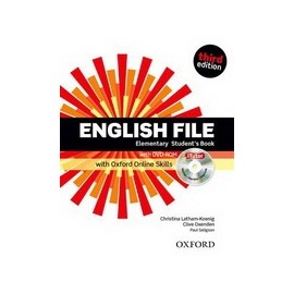 English File Third Edition Elementary Student's Book + DVD-ROM + Online Skills Practice