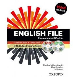 English File Third Edition Elementary Multipack A + iTutor DVD-ROM + Online Skills Practice