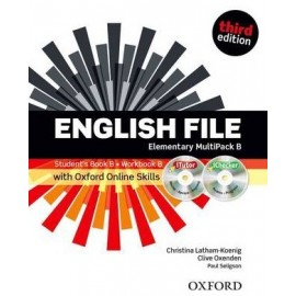 English File Third Edition Elementary Multipack B + iTutor DVD-ROM + Online Skills Practice