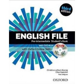 English File Third Edition Pre-Intermediate Student's Book + DVD-ROM + Online Skills Practice
