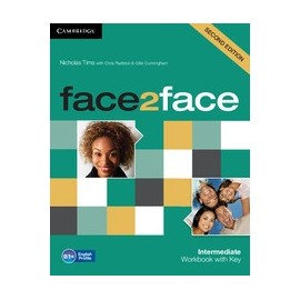 face2face Intermediate Second Ed. Workbook with Key