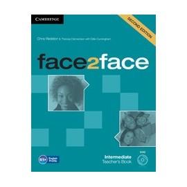 face2face Intermediate Second Ed. Teacher's Book + DVD